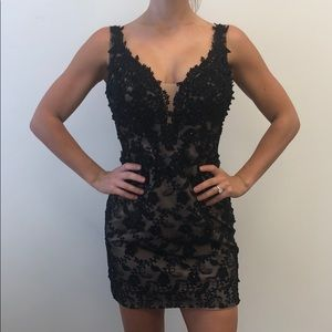 JOVANI LUXURY COCKTAIL DRESS